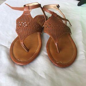 Jessica Simpson tan leather sandals 7.5M